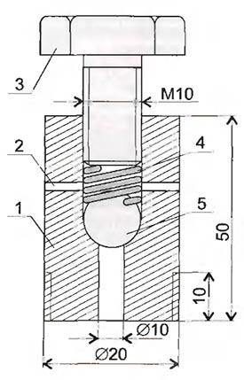 Предохранительный клапан автоклава