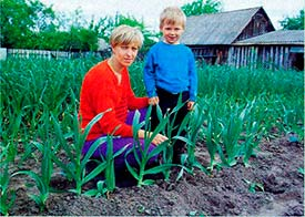 Людмила Булавчик с сыном
