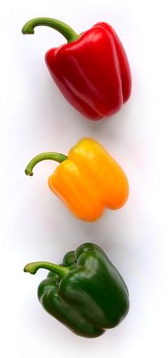 Сладкий перец разноцветный