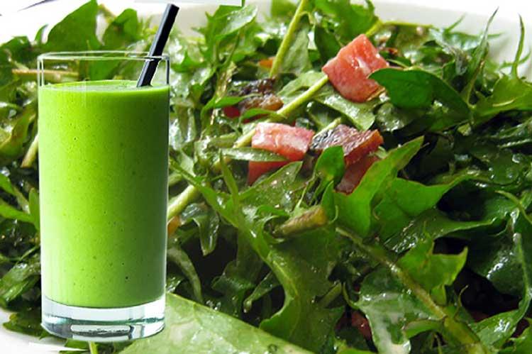 Сок одуванчиков витаминная добавка к повседневному рациону