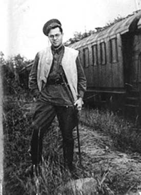 Михаил Матусовский в молодости. Источник: www.peoples.ru